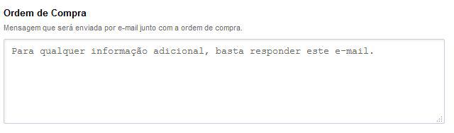 Ordem de Compra