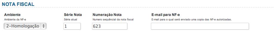 dados nota fiscal