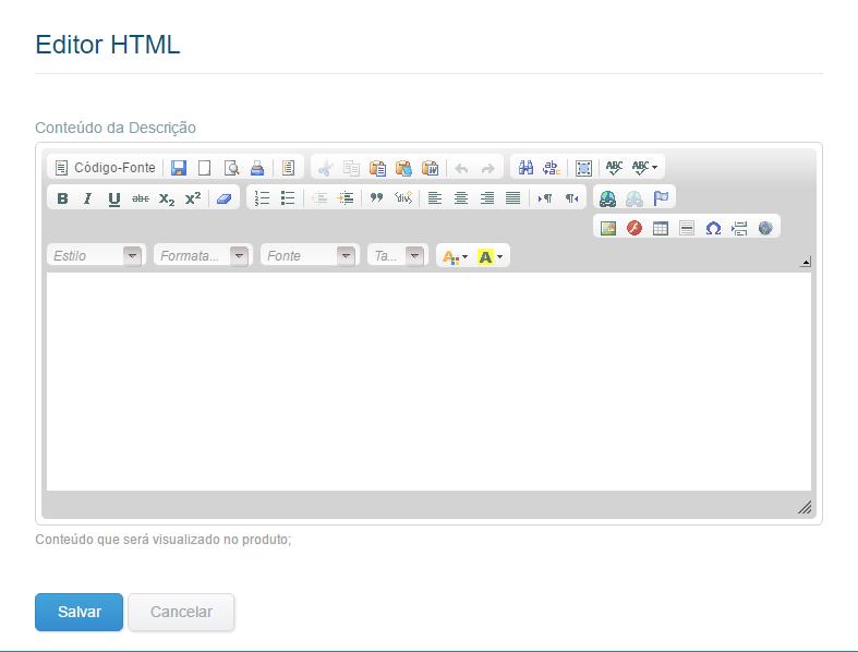 Editor html