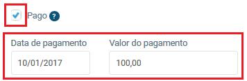 Campo pago - VHSYS