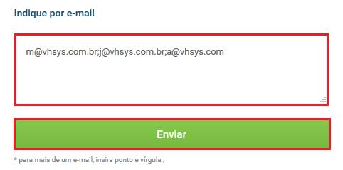 Indique por e-mail - VHSYS