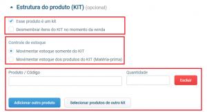Informações do KIT