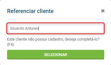 referenciar cliente